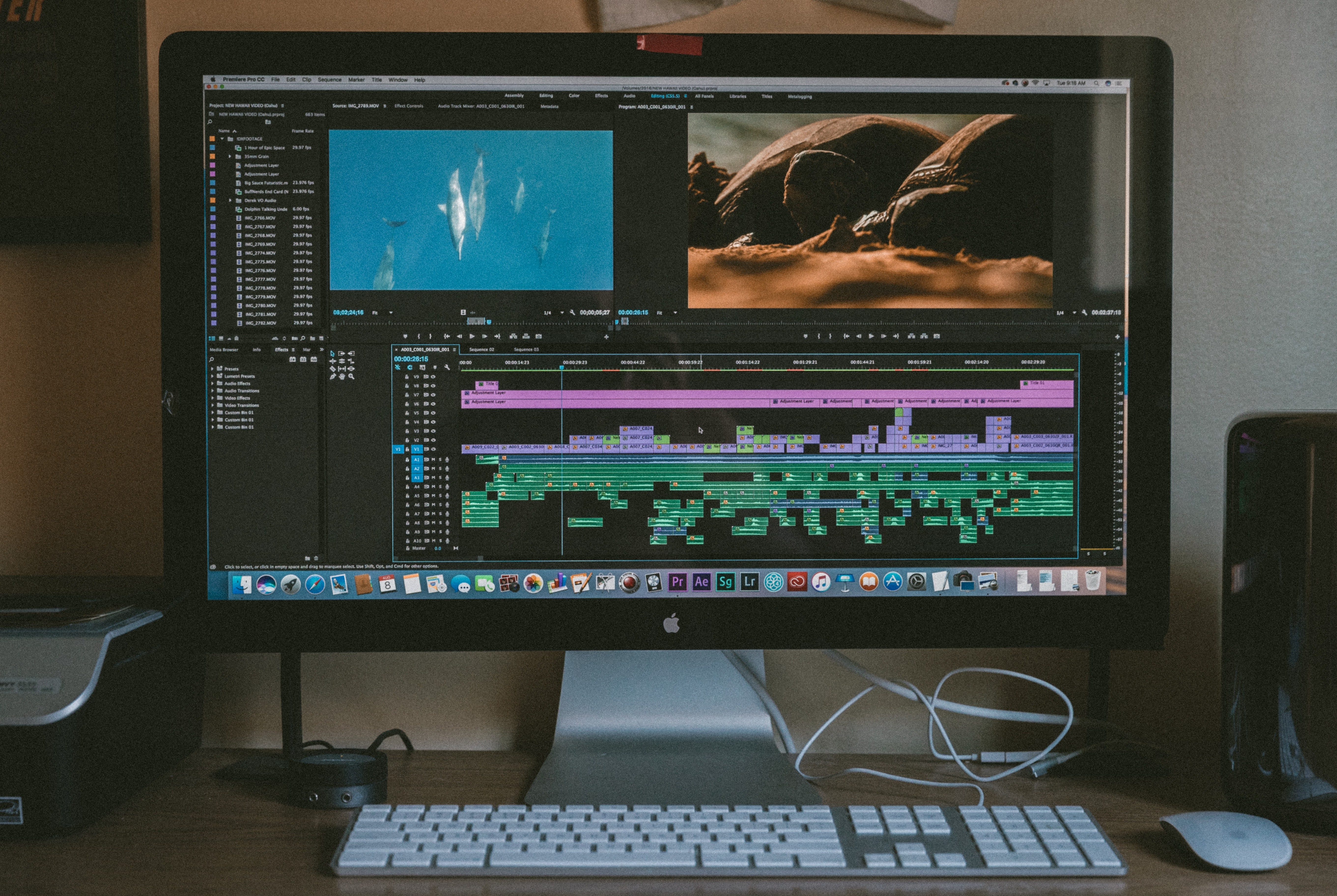 computer-being-used-to-edit-video